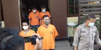 Enam Pengedar Sabu di Kota Probolinggo Ditangkap Polisi