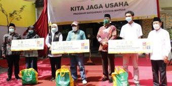 Luncurkan Program Kita Jaga Usaha, Baznas RI Berikan Bantuan 10.000 UMKM se-Indonesia
