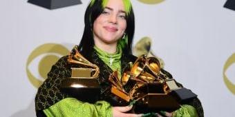 Billie Eilish Borong Grammy 2020, Diselipi Penghargaan untuk Kobe Bryant yang Baru Tewas
