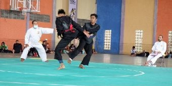 Ratusan Atlet Pencak Silat Bangkalan Ikut Seleksi Porprov Jatim 2022 di Lumajang