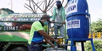Tetap Sediakan Tandon untuk Cuci Tangan, DLHKP Kota Kediri: Jangan Dipakai Cuci Piring