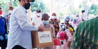 Masa Pandemi, Pemkot Probolinggo Berikan Santunan dan Paket Sembako kepada 1.500 Anak Yatim