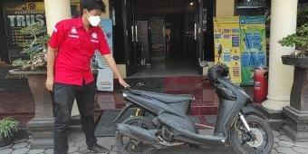 Pencuri Motor di Kras Kediri Viral, Tinggalkan Motor Butut Miliknya Tanpa Pelat Nomor