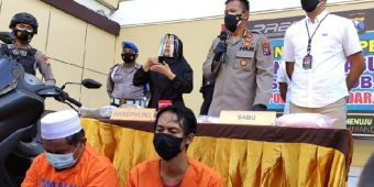 Karyawan Swasta di Sidoarjo Nekat Edarkan Narkoba