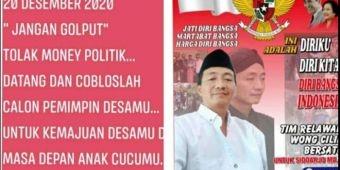 Pendiri Relawan Wong Cilik Bersatu Kedungbocok Sidoarjo Ajak Warga Sukseskan Pilkades