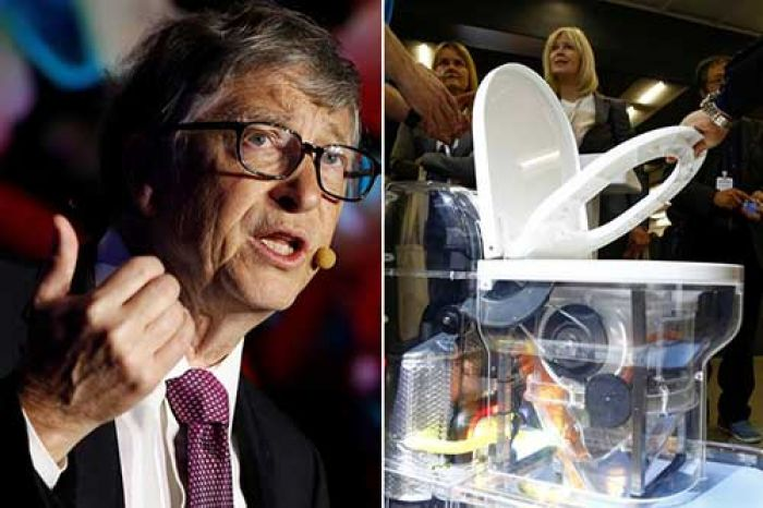 ​Bill Gates Luncurkan Toilet Tanpa Air di China