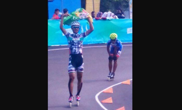 Atlet Sepatu Roda asal Sidoarjo Sumbang Emas Kontingen Jatim di PON Jabar fc7805647e