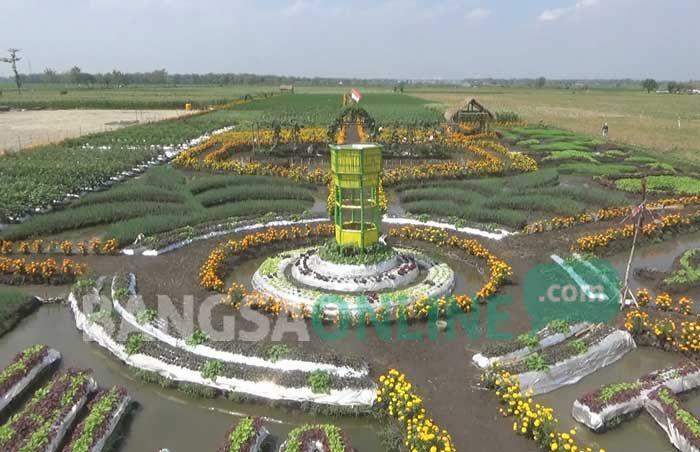 Indahnya Taman Pertanian di Banjarsari Jombang, Terdapat 200 Lebih Varietas Tanaman