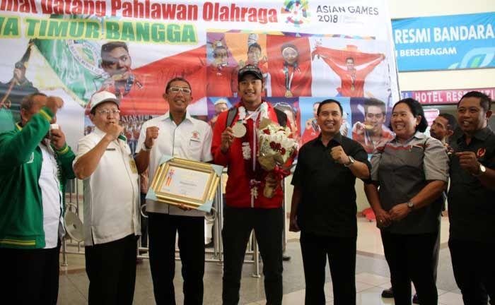 KONI Sambut Atlet Voli Pantai Asal Sidoarjo Peraih Medali Perak Asian Games 2018