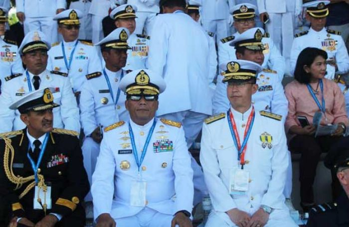Pangarmatim Ikuti International Maritime Review 2017 di Singapura